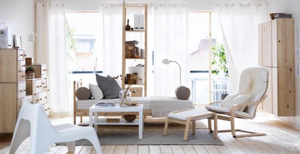 exemple espace détente de style déco scandinave