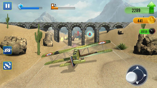 Wings of Fire - Drone Fly  Fighter 1.2 screenshots 4