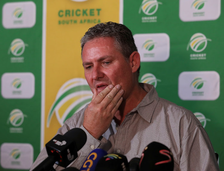 Cricket South Africa acting chief executive Jacques Faul was roped in in December a few days after the suspension of Thabang Moroe.