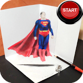 Draw Hero Superman