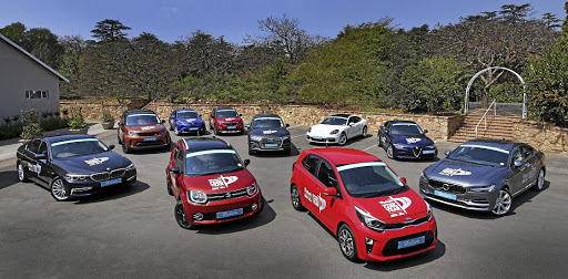 The 10 finalists for the 2018 South African Car of the Year title. Picture: INGA TERBLANCHE