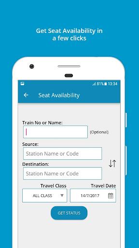 Indian Rail Train Info 3.0.61 screenshots 3