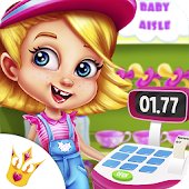 Supermarket Manager Baby - Toddler Store Games