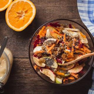 Fitness recipes. Salad for dessert