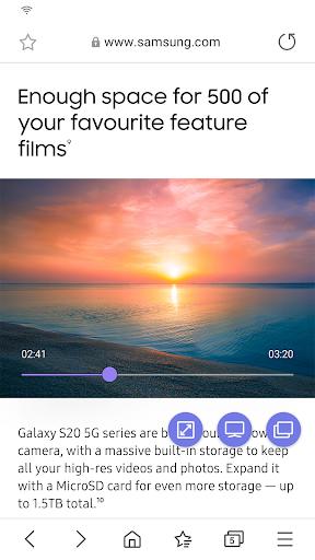Samsung Internet Browser 12.1.1.36 Screenshots 4