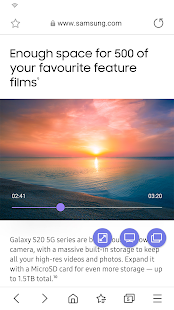 Samsung Internet Browser