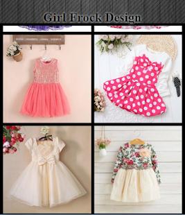 Girl Frock Design - náhled