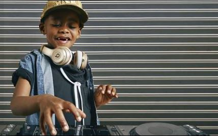 Six-year-old DJ AJ who impressed judges on the America's Got Talent show.