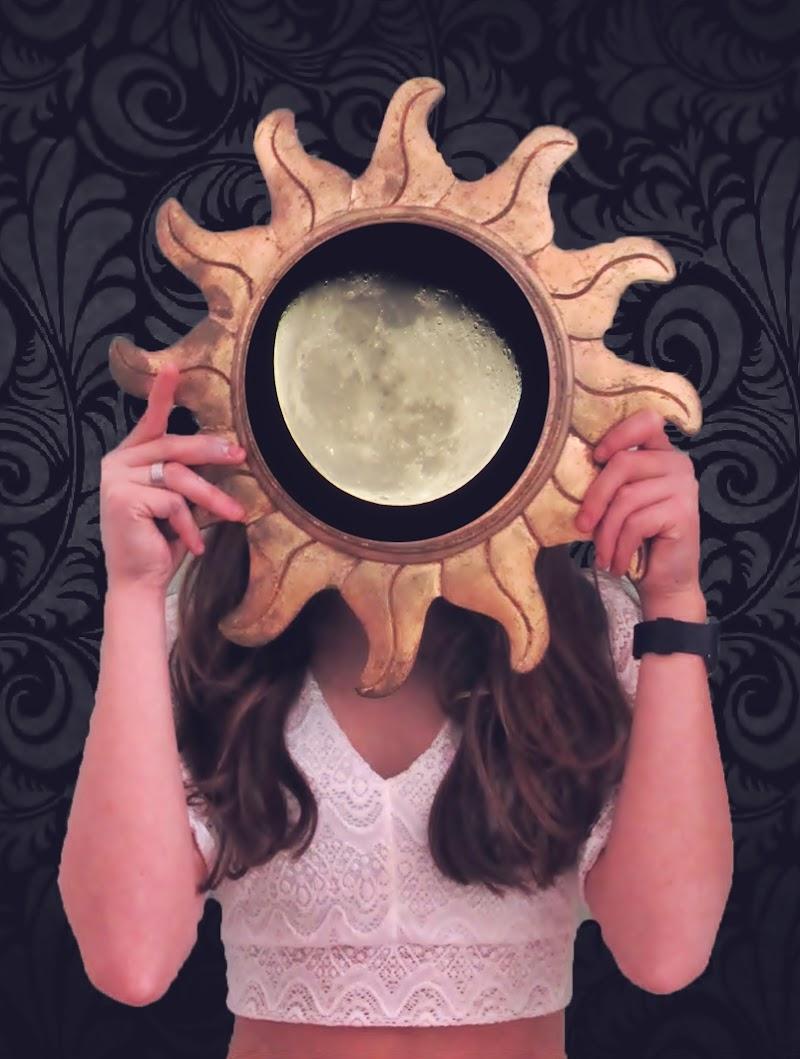 """""""Riflessioni""""; Il Sole e la Luna di mariateresadangella"""