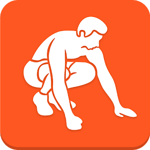 Burpee workout icon