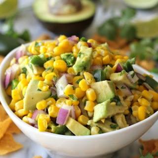 Avocado Corn Salsa.