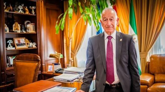 Gabriel Amat, alcalde de Roquetas, en una imagen de archivo.