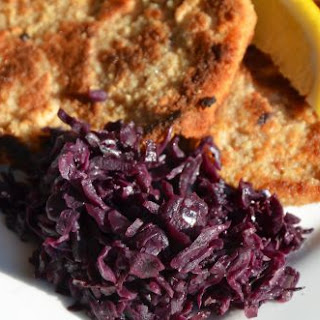 Slow Cooker German Red Cabbage.