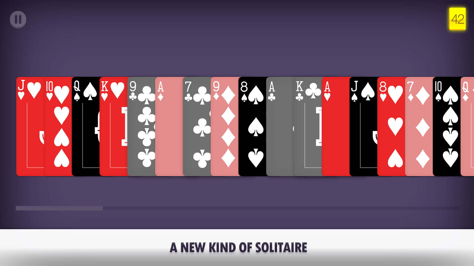 Pair Solitaire- screenshot