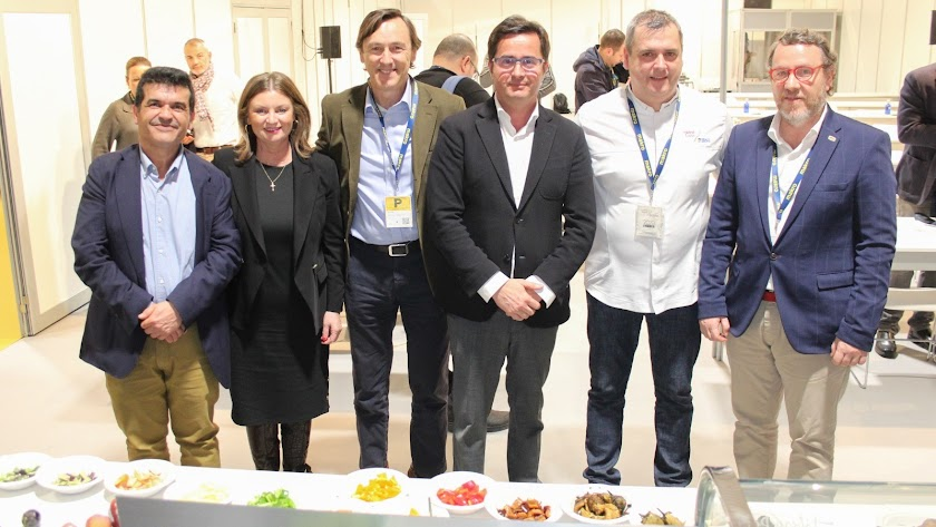 Desarrollo del taller en Madrid Fusión promovido por el consistorio ejidense.