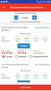 EzeeHouse-Best Mutual Fund Investment App in India- screenshot thumbnail
