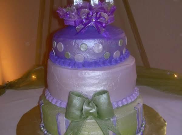 Sweet 16 Cake Recipe