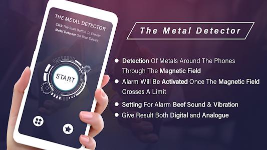 Metal Detector 2019 : Metal Finder With Sound 1.1