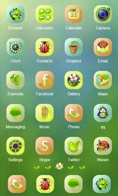 Spring ZERO Launcher - screenshot