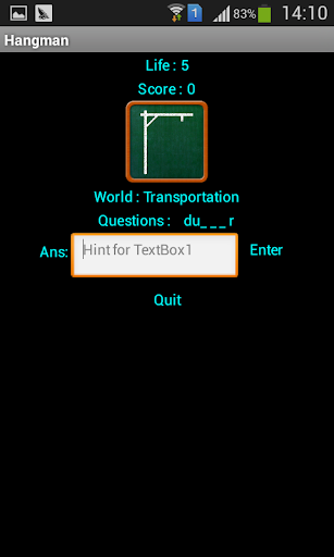 Hang Man By Afonso|玩教育App免費|玩APPs