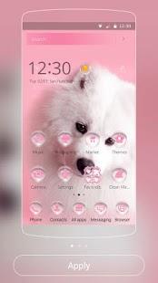 Puppy Dog Theme pink pet - náhled
