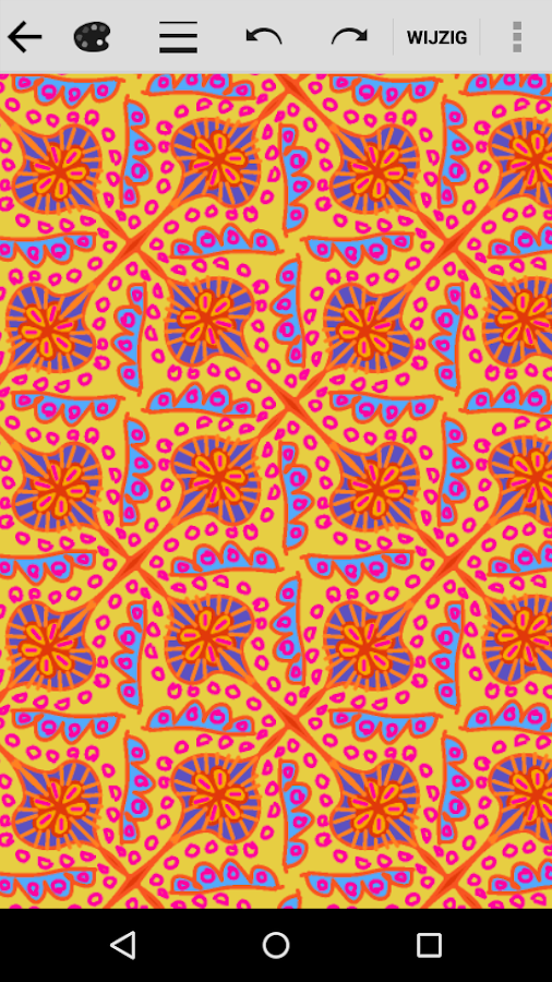 KaleidoPaint: screenshot