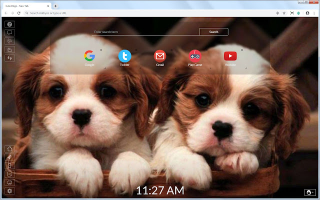 Cute Dogs New Tab
