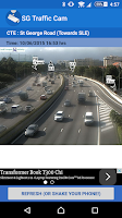 Screenshot of SG Traffic Cam