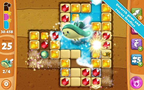 Diamond Digger Saga Mod APK (Unlimited Boosters) for Android 6
