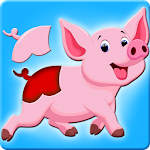 Animals puzzle game for kids Icon