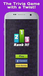 Rank It! Trivia - Brain Test- screenshot thumbnail