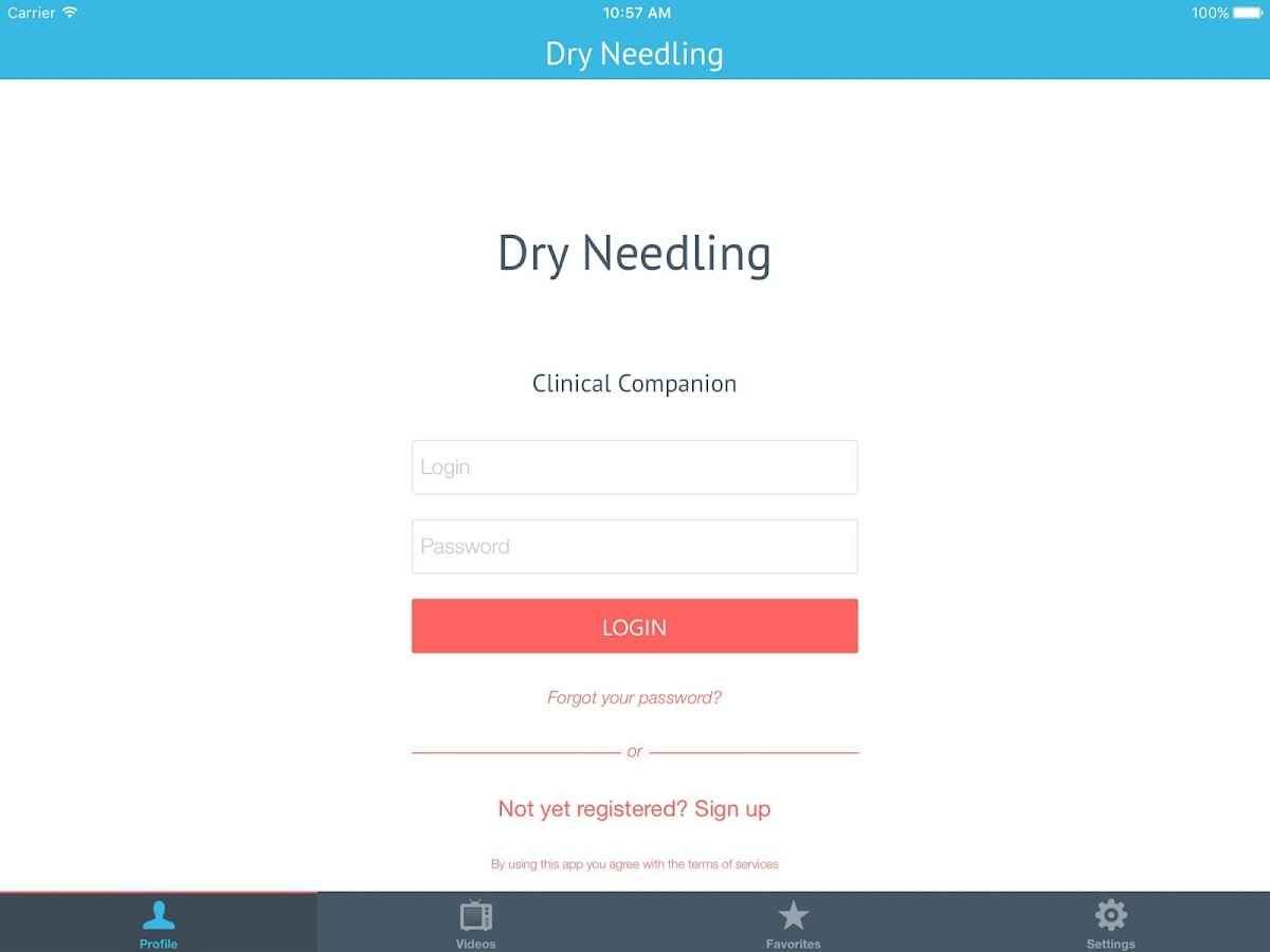 Dry Needling Clinic Companion- screenshot