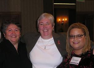 Photo: Jennifer Clarke and Patricia Todd.