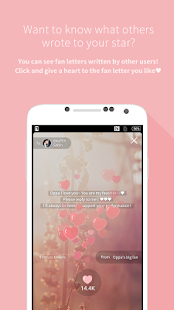 Mydol- Virtual chat, Fanletter- screenshot thumbnail