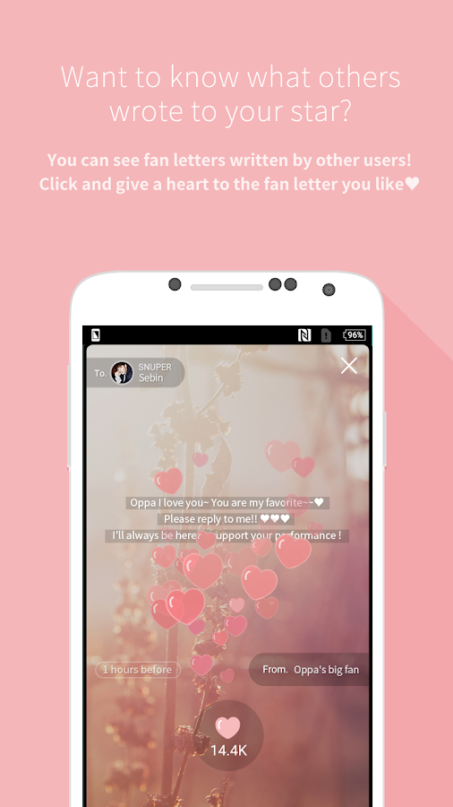 Mydol- Virtual chat, Fanletter- screenshot