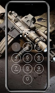 Weapon Lock Screen - náhled