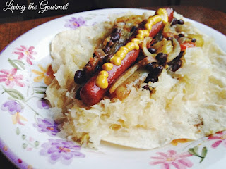 Hot Dogs With Black Beans And Sauerkraut Recipe
