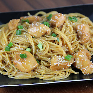 Spaghetti Noodles Teriyaki Sauce Recipes