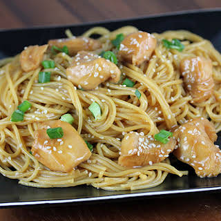 Chinese Chicken with Noodles.