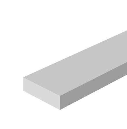 Kalldragen Plattstång L-1m