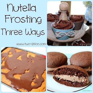 3.  Fluffy Nutella Buttercream.