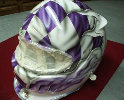Harley Davidson Motorcycle Helmets With Spider Webs