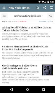 US Newspapers- screenshot thumbnail