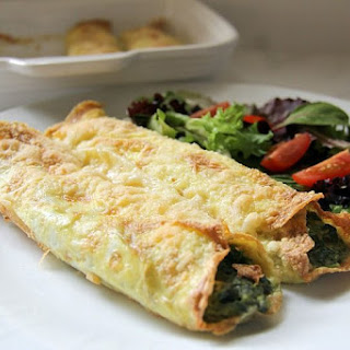 Spinach Cannelloni with No Pasta.