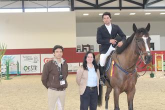 Photo: Duarte Seabra na entrega do grande prémio por Maria Luísa Emerenciano e Pedro Carvalho