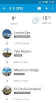 Screenshot of Tripomatic Trip Planner