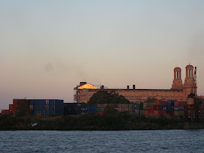 Photo: Containers and Church