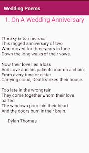 Love Wedding Anniversary Poems - náhled