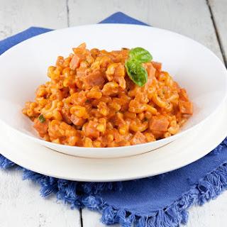 Budget Macaroni Casserole with Ham Recipe