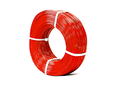 Red KVP Master Spool PLA Filament Koil - 3.00mm (1kg)